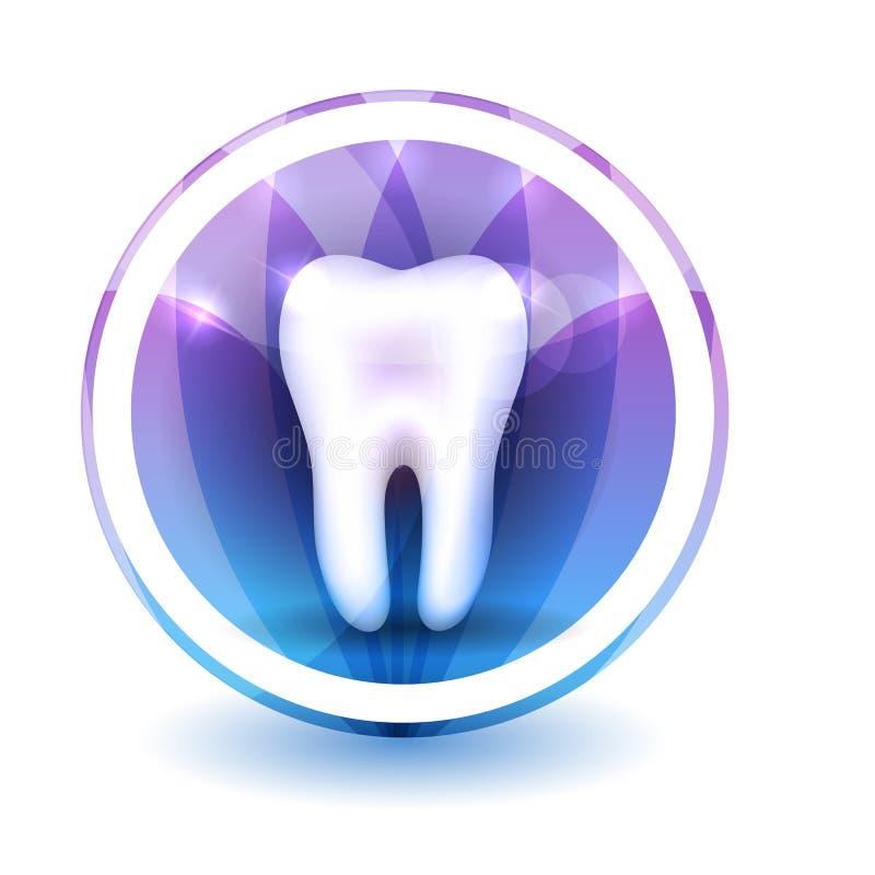 Segno sano del dente royalty illustrazione gratis