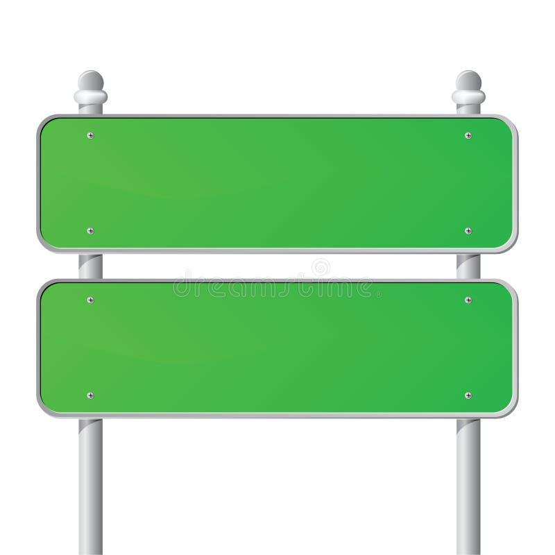 Segno verde illustrazione vettoriale