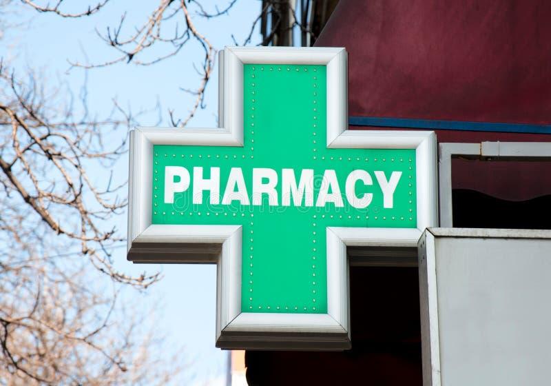 Segno della farmacia immagine stock