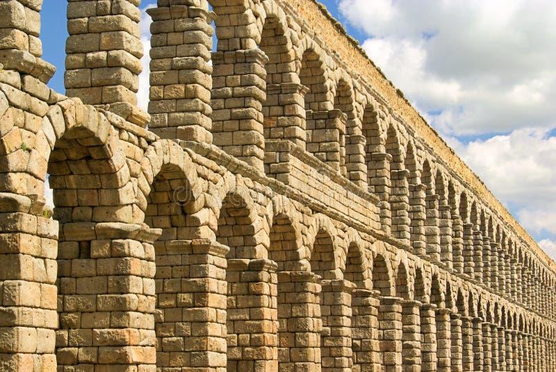Segovia渡槽 库存图片