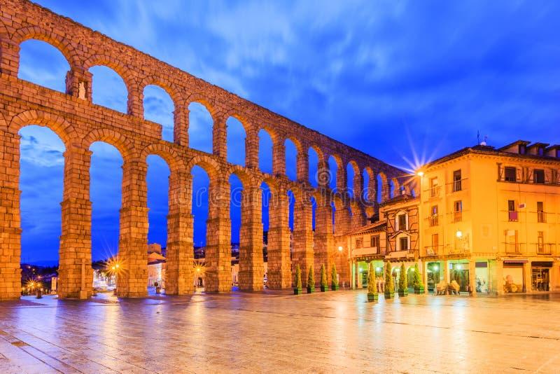 Segovia,西班牙 库存照片