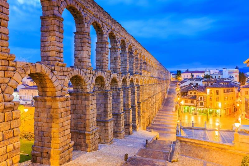 Segovia,西班牙 库存图片