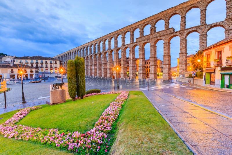 Segovia,西班牙 图库摄影