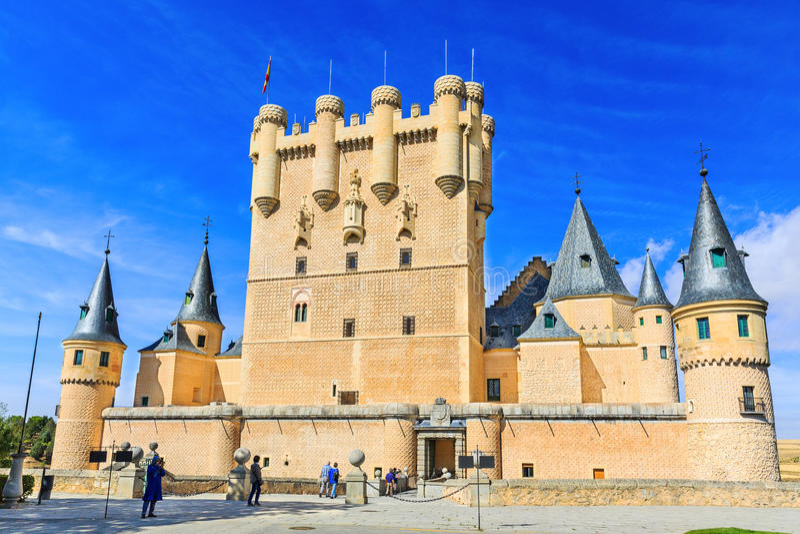 Segovia,西班牙 免版税图库摄影