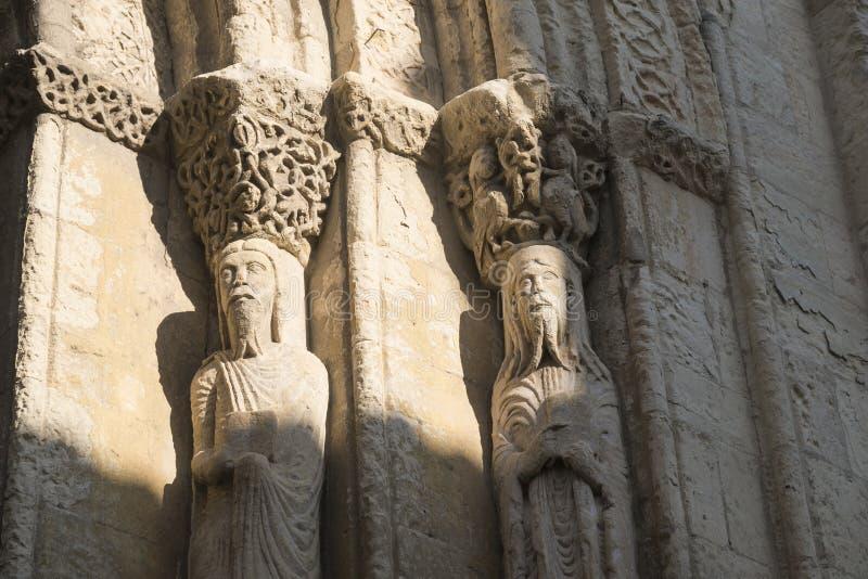 Segovia Ισπανία: εκκλησία του SAN Martin στοκ φωτογραφία με δικαίωμα ελεύθερης χρήσης