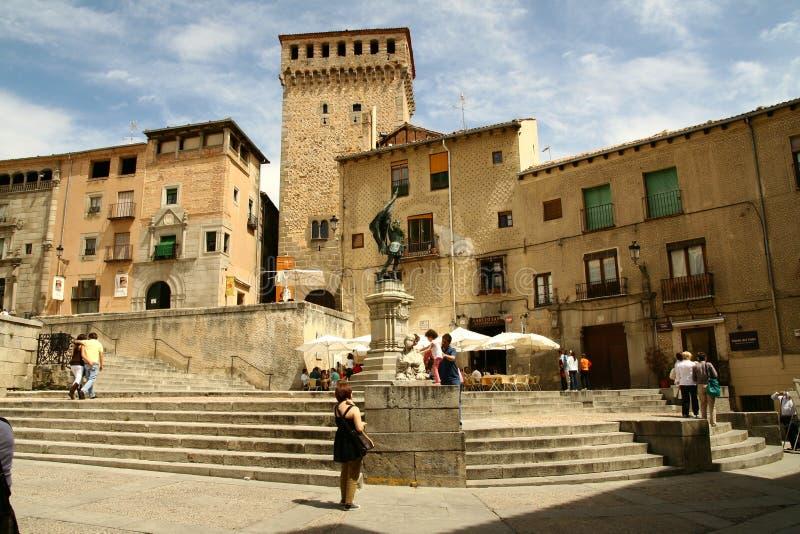 Segovia royalty-vrije stock afbeeldingen