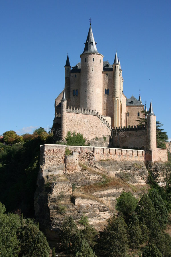 Download Segovia stock photo. Image of tale, tower, spanish, battlements - 4914226