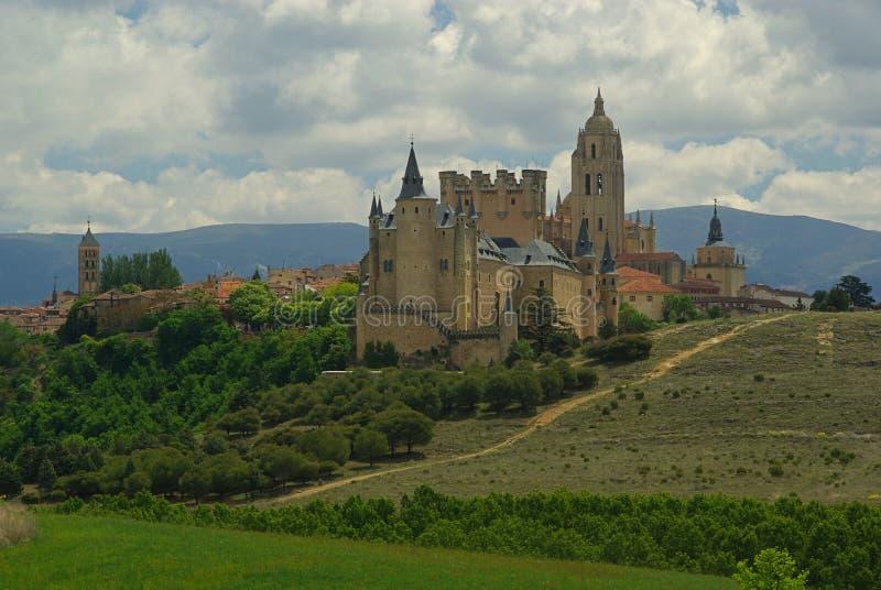 Segovia Alcazar stock images