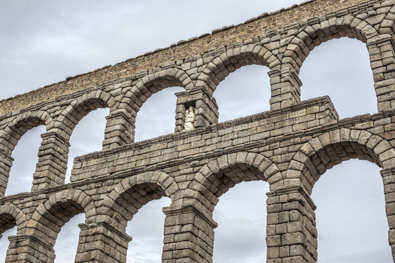 Segovia, Castiglia Leon, Spagna fotografie stock