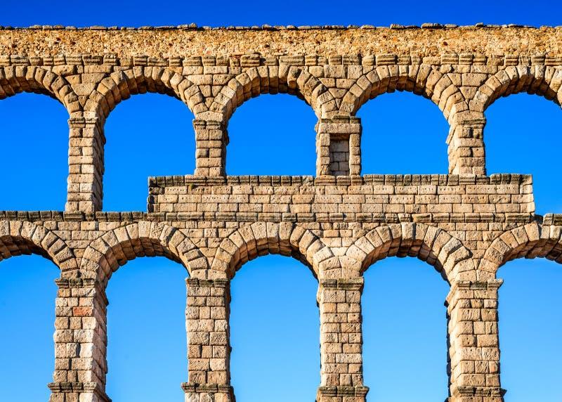 Segovia, Castille, Spagna fotografie stock libere da diritti