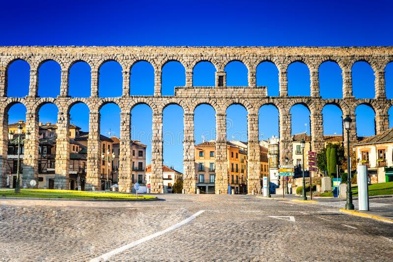 Segovia, Castille, Spagna fotografia stock