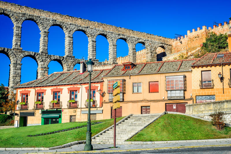 Segovia, Castille, Spain stock images