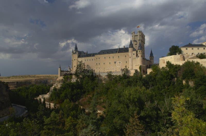 Segovia Castle και περιβάλλον τοπίο segovia Καστίλλη και Leon Ισπανία στοκ φωτογραφίες με δικαίωμα ελεύθερης χρήσης