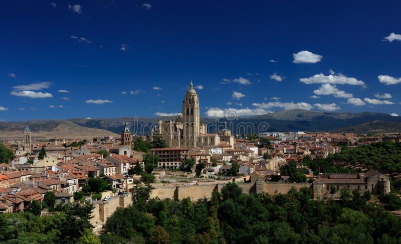 Segovia Catherdal imágenes de archivo libres de regalías