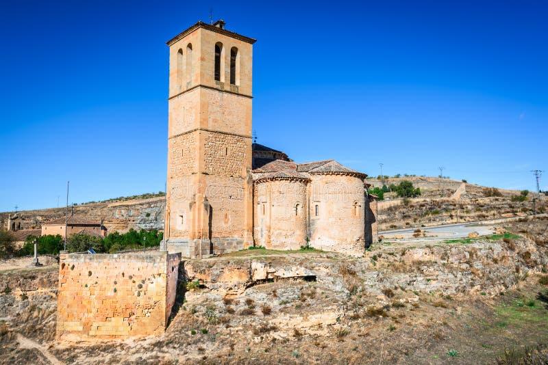 Segovia, chiesa di Vera Cruz, Spagna fotografie stock