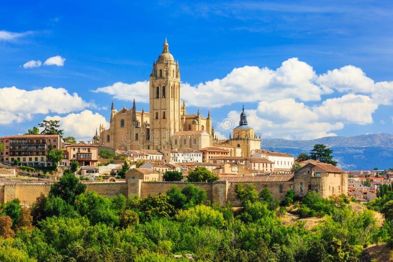 Segovia, España foto de archivo