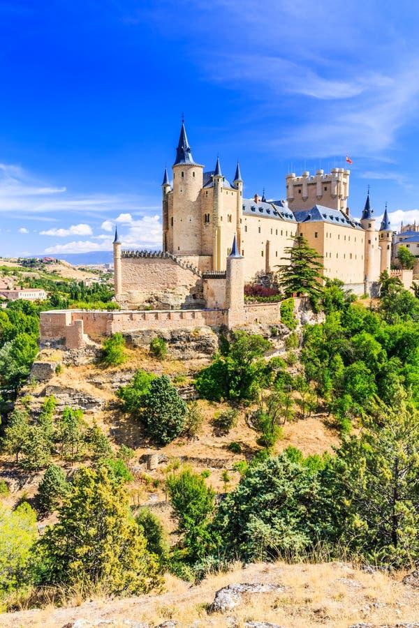 Segovia, España foto de archivo libre de regalías