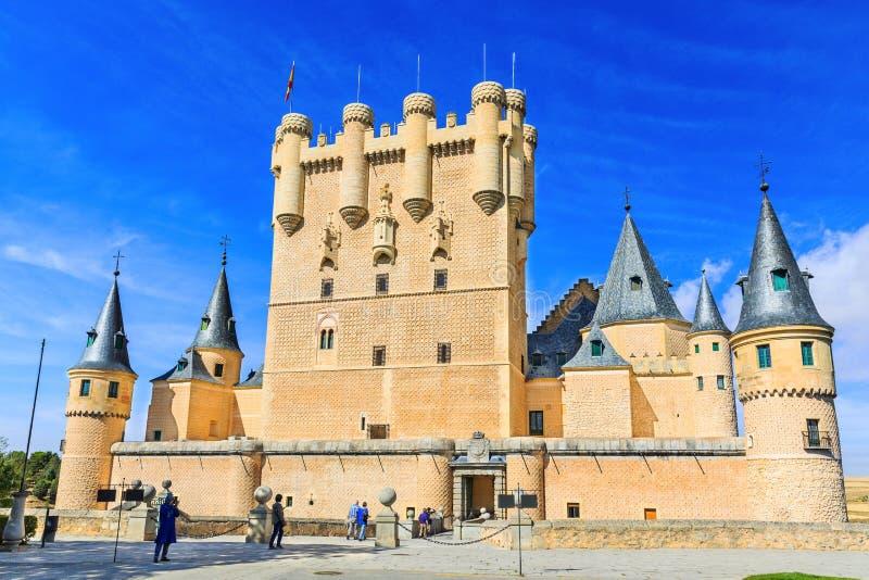 Segovia, España fotografía de archivo libre de regalías
