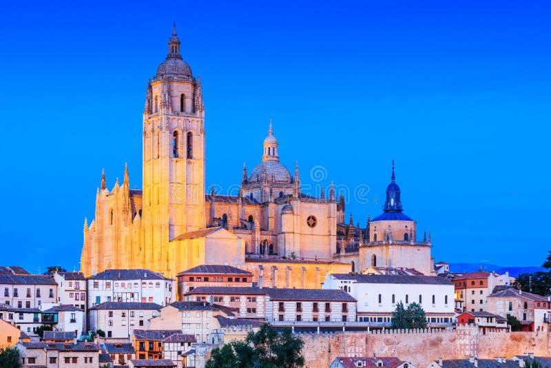 Segovia, Espagne image stock