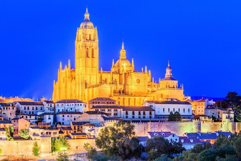 Segovia, Espagne images libres de droits