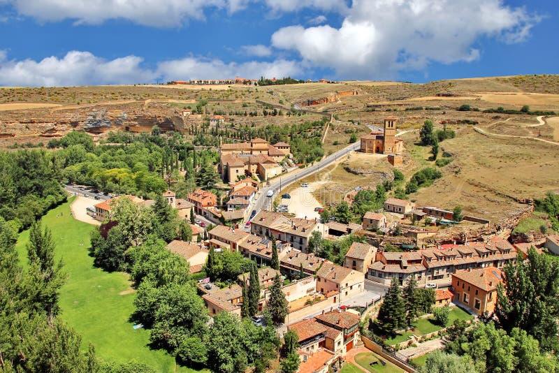 Segovia, Hiszpania fotografia stock