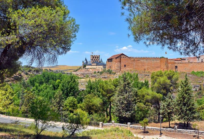 Segovia, Hiszpania obraz stock