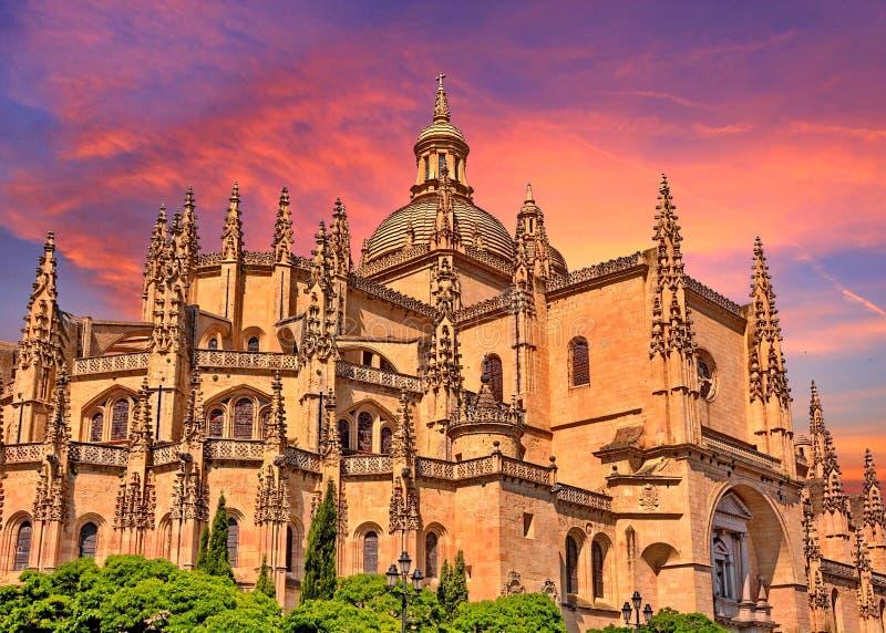 Segovia, Hiszpania fotografia royalty free