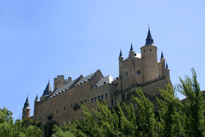 Segovia kasteel stock foto