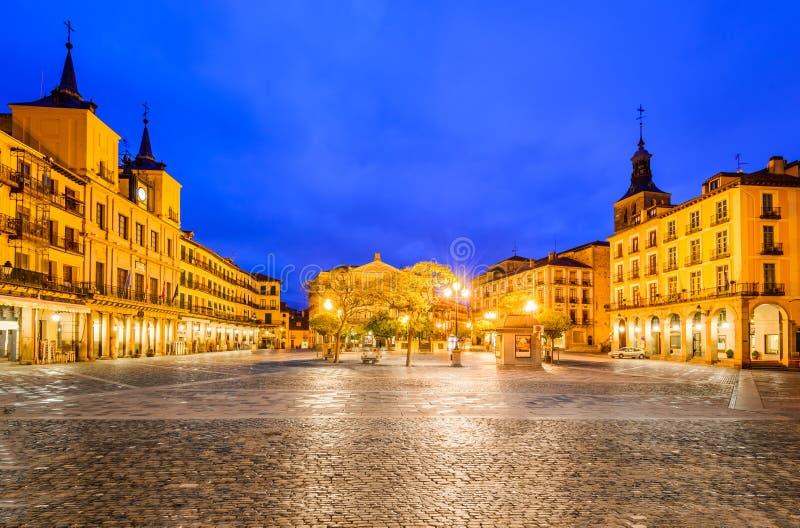 Segovia, Kastilien y Leon, Spanien lizenzfreies stockbild