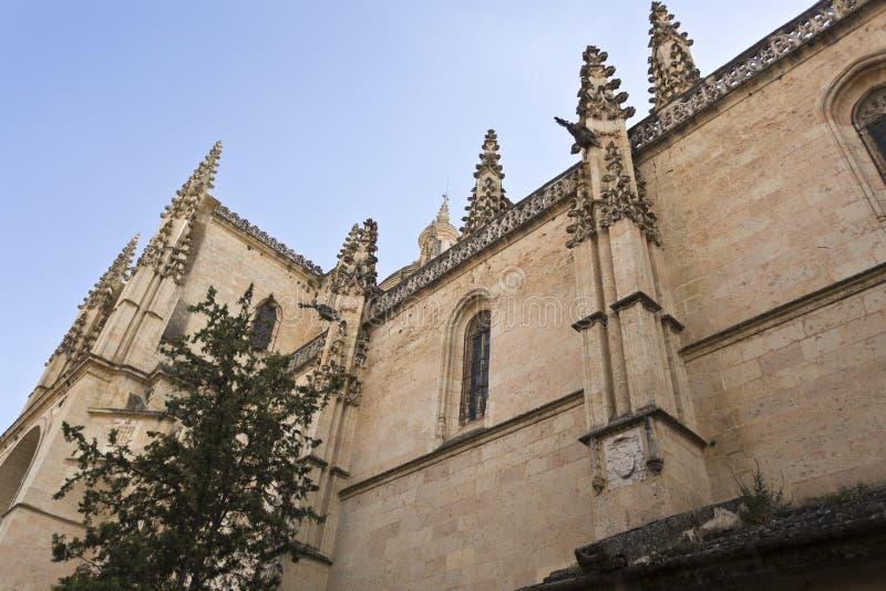 Segovia Kathedraal royalty-vrije stock foto