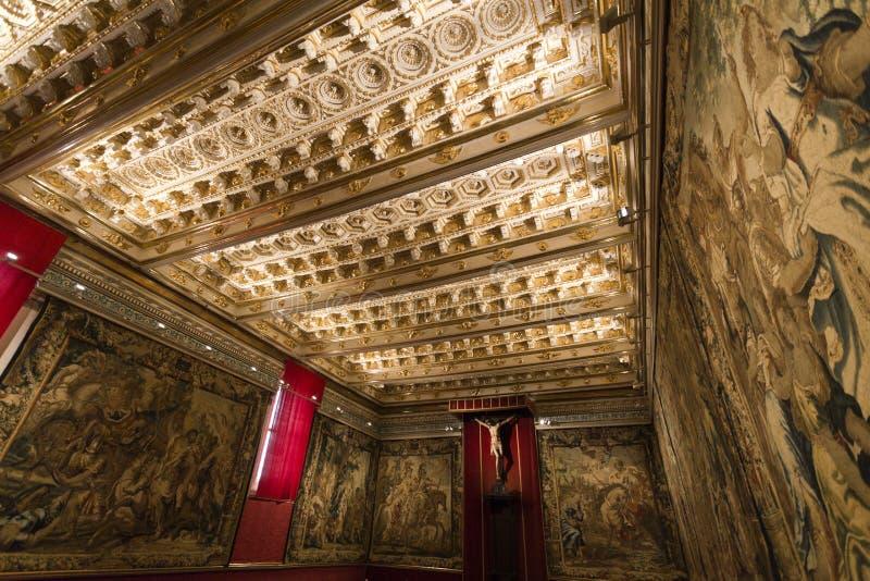 Segovia Kathedraal royalty-vrije stock afbeelding