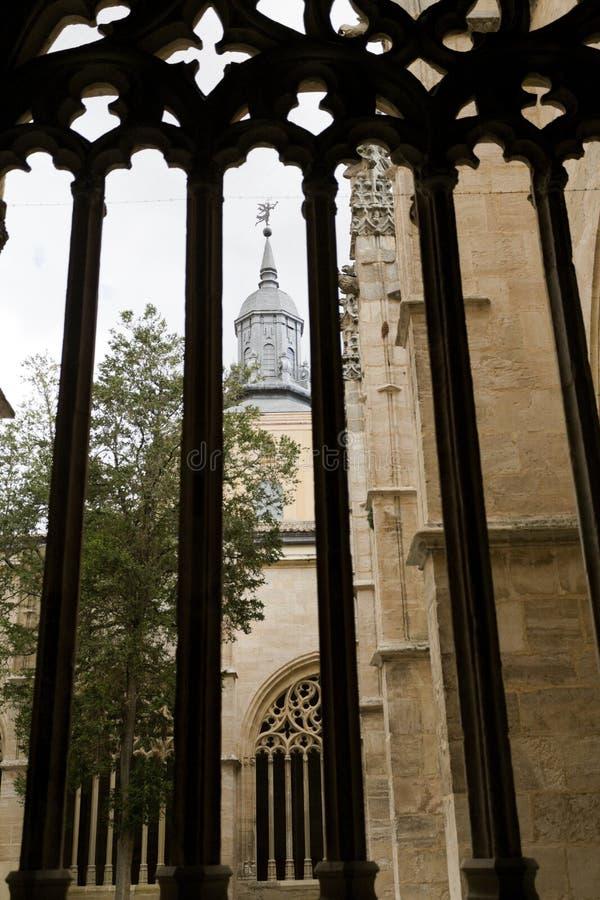 Segovia Kathedraal royalty-vrije stock afbeeldingen