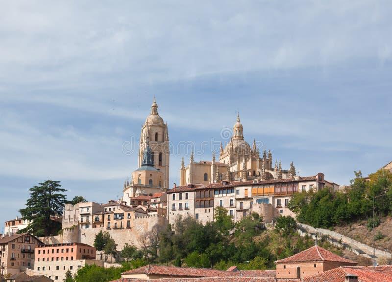 Segovia-Kathedrale, Spanien lizenzfreie stockfotos
