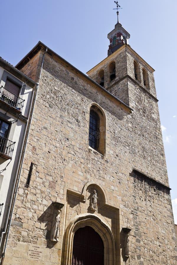 Segovia Kerk van San Miguel royalty-vrije stock foto