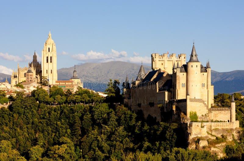 Segovia, Oliven?lseife und Leon, Spanien stockbild