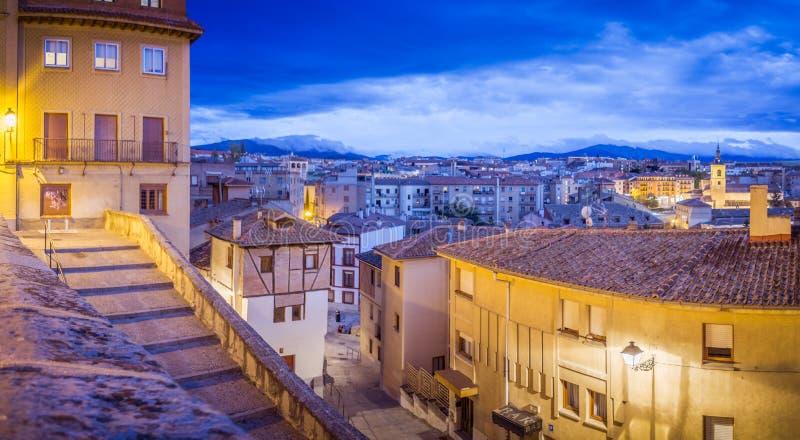Segovia reale fotografie stock