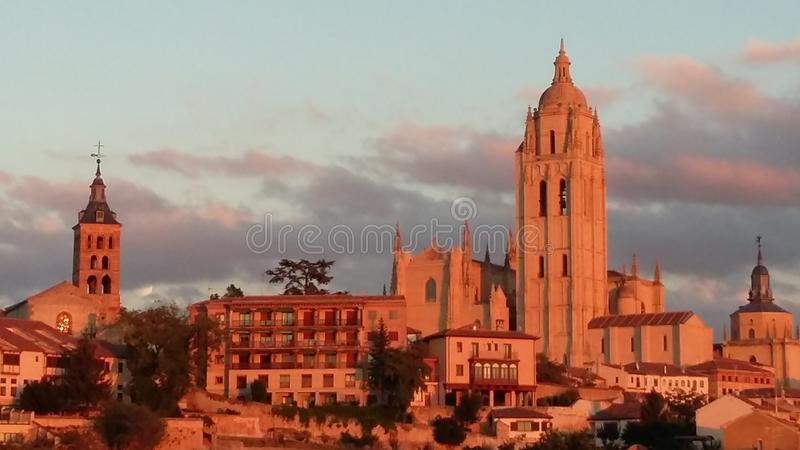 Segovia stock photo
