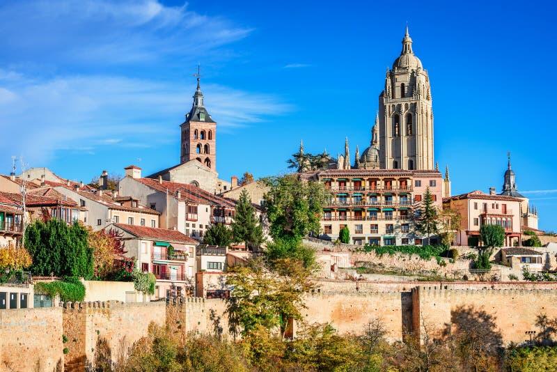Segovia, Spagna immagine stock libera da diritti