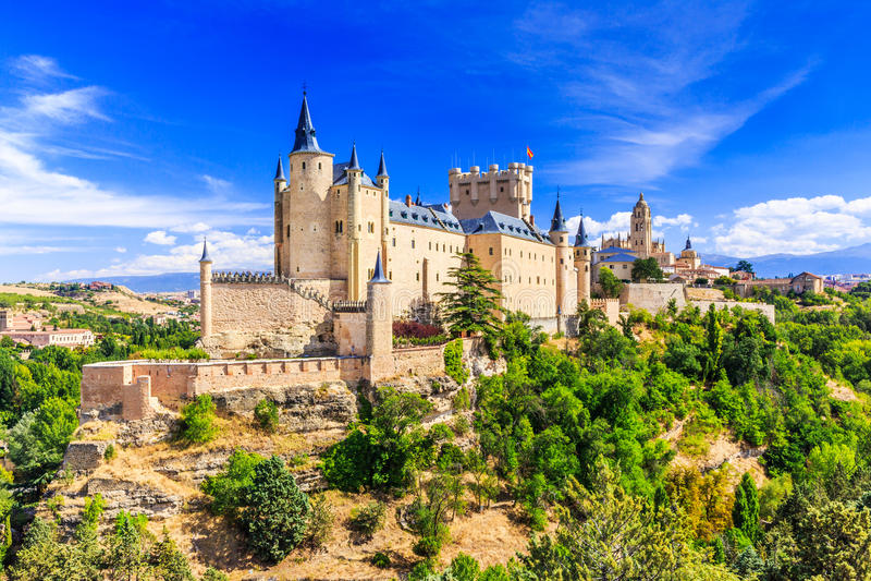Segovia, Spain. royalty free stock photos