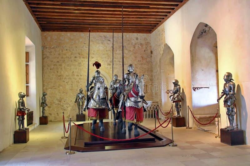 Segovia Spanje royalty-vrije stock afbeeldingen