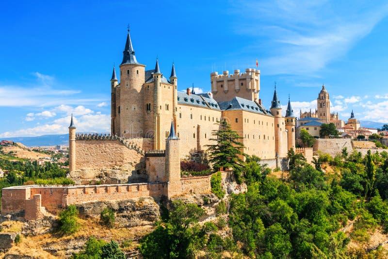 Segovia, Spanje stock foto's