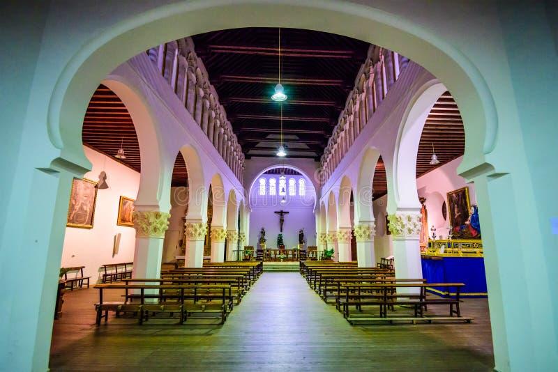 Segovia, Spanje Oude Synagoge royalty-vrije stock afbeeldingen