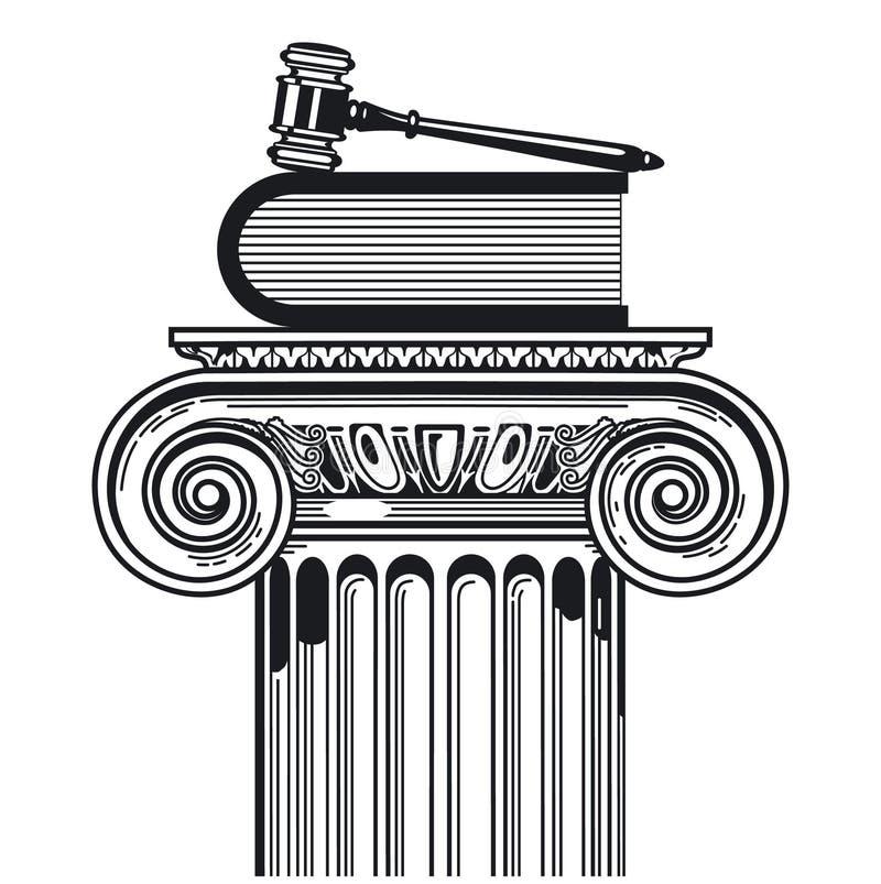 segra för falllag stock illustrationer
