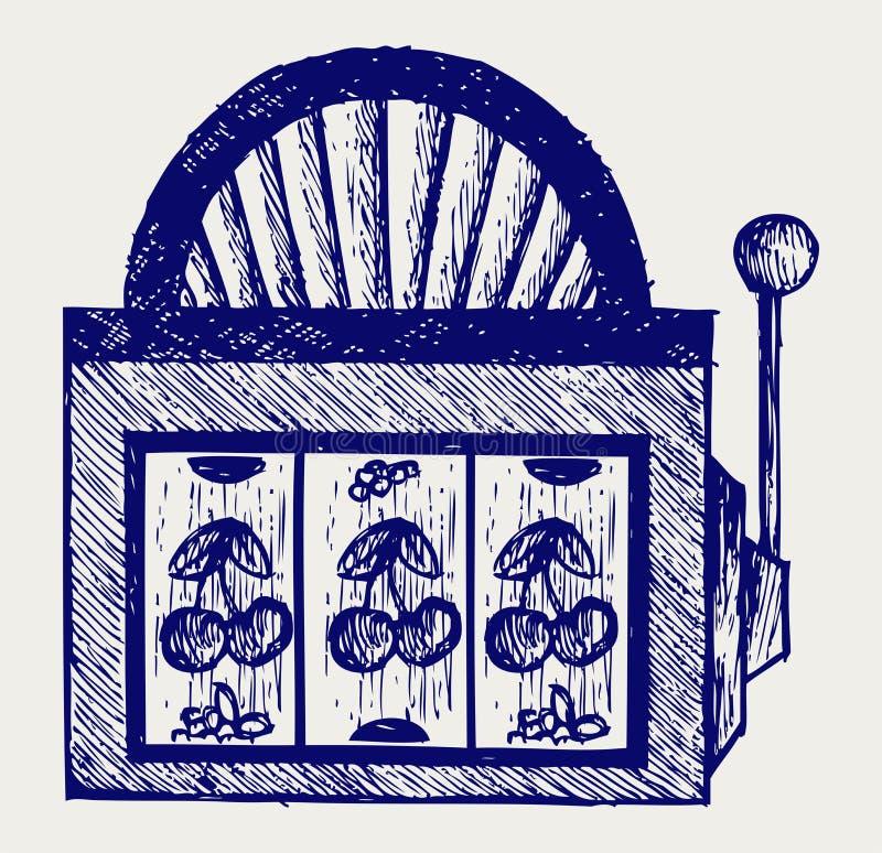 Segra i enarmad bandit royaltyfri illustrationer
