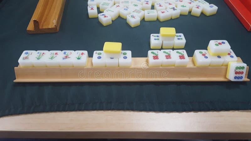 Segra leken av Mahjong, Mosman, Sydney, NSW, Australien royaltyfri bild