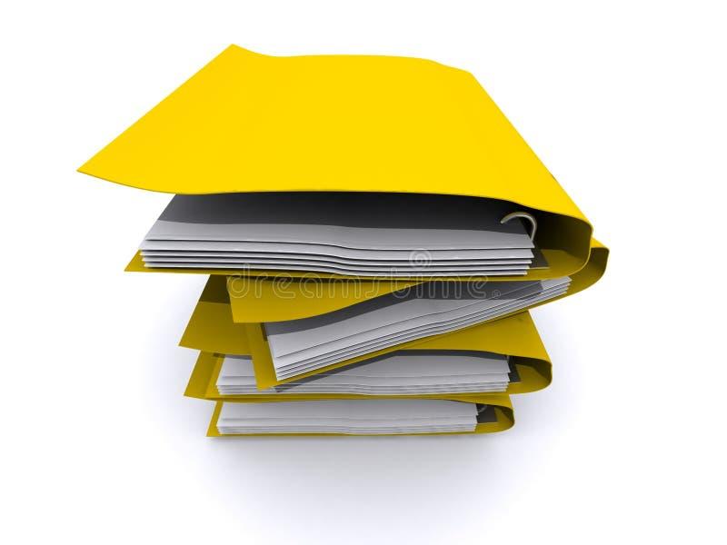 segregatoru kolor żółty ilustracja wektor