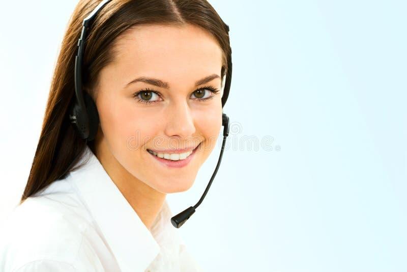 Segretaria/telefono immagine stock