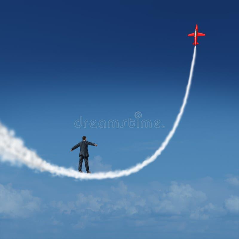 Segua i vostri sogni illustrazione vettoriale