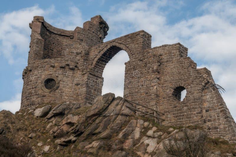 Segue o insensatez da bobina na beira de Staffordshire/Cheshire fotografia de stock royalty free