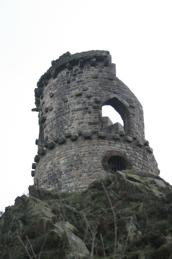 Segue a torre do castelo da bobina - ajuste para Rapunzel fotografia de stock royalty free